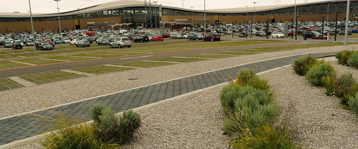 Parkplatz Einkaufszentrum G3