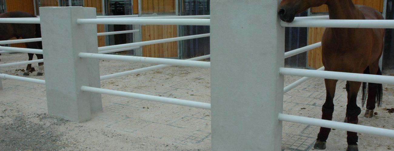 Massive Paddockplatten ersetzen Tragschicht
